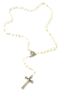 Angelic Mother of Pearl Rosary
